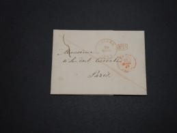 BELGIQUE - Lettre De Anvers Pour Paris En 1845 En PD - A Voir - L 4543 - 1830-1849 (Belgique Indépendante)