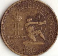 Monaco - 2 Francs 1926 HERCUL-MONOEC- - Monaco