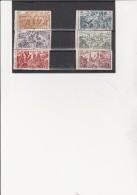 INDE -POSTE AERIENNE N° 11 A 16 NEUF  BDF -XX  SERIE TCHAD AU RHIN - ANNEE 1946 - Indien (1892-1954)