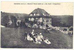 Cpa Jougne - Modern'Hotel - Au Fond : L'Aiguillon  ((S.159)) - Autres Communes