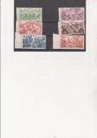 INDOCHINE -POSTE AERIENNE N° 40 A 45 NEUF  BDF -XX  SERIE TCHAD AU RHIN - ANNEE 1946 - Indochina (1889-1945)