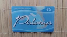 Prepaidacrd Paloma Used Rare - Tarjetas Telefónicas