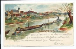 Jagstfeld - Jolie Carte Couleurs, Précurseur, Unique Sur Delcampe, 1903, Péniches, Voir Les Photos # - Bad Friedrichshall
