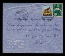 """SA DA BANDEIRA Angola Cover 1956 Faune Animals Animaux """"CABRA DO MATO"""" Portugal Sp4272 - Sin Clasificación"""