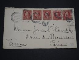 ETATS UNIS - Enveloppe De New York Pour Paris En 1910 - A Voir - L 4561 - United States