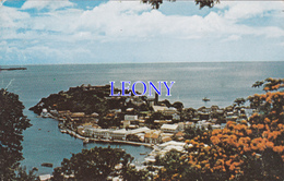 CPSM 9X14 Des ANTILLES - FORT GEORGE And HARBOUR ST GEORGE'S GRENADA  W.I. - Grenada