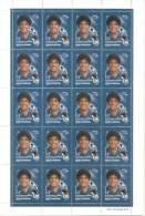 DIEGO ARMANDO MARADONA CORREO PRIVADO OCA REPUBLICA ARGENTINA PLANCHA DE 20 TIMBRES DE $ 1,30 RARE FUTEBOL FUTBOL BALOMP - Voetbal