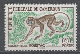 Cameroun 1962. Scott #358 (MNG) Mustache Monkey - Cameroun (1960-...)