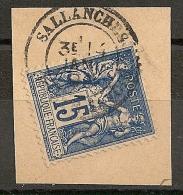 15c SAGE BELLE NUANCE Foncée, SALLANCHES Haute Savoie. - 1876-1898 Sage (Type II)