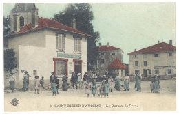 Cpa Saint Didier D'Aussiat - Le Bureau De Poste ((S.162)) - France