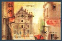 Macao Macau  1997 Yvert Bloc 42 ** Macao Vue Par Le Peintre Kwok - Macao Seen By Kwok . Superb - Blocs-feuillets