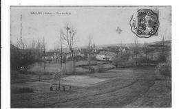 02 - AISNE :  1 CPA  De  : BAULNE   -  Vue Du Pays  -   . - Autres Communes