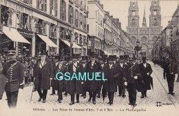 45 - Orléans. Les Fêtes De Jeanne D´arc. La Municipalité. -  (voir Scan). - Orleans