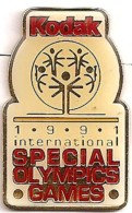 KODAK SPECIAL OLYMPICS GAMES JO JEUX - Giochi Olimpici