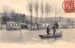 51 - MARNE - JAULGONNE - Passage Du Courrier - Inondation - France