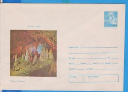 CAVE GROTTE POLOVRACI ROMANIA  GANZSACHE STATIONERY ENTIER - Geology
