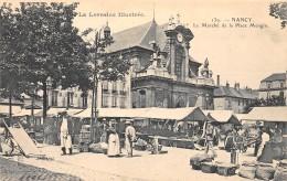 54 - MEURTHE ET MOSELLE - Nancy - Le Marché - Nancy