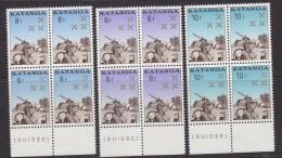 Katanga 1962 Katangese Gendarmerie 3w Bl Van 4 (+boord) ** Mnh (32960) - Katanga