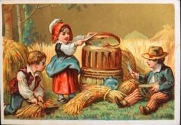 BELLE CHROMO. Dorée - D. HUTINET - CAPRON-DARREAU - Confection En Tous Genres - Sans Légende - En TBE - Other