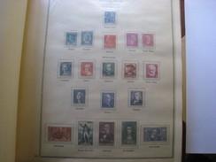 76 Timbres.....(de 1927 à 1945)... La Plupart Neufs Avec Charniéres...entre N° 209 & 771  à Voir Sur 5 Feuilles D'album - France