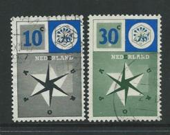 Niederlande 1957 MiNr. 704/705 - Europa-CEPT