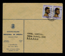 """Luanda Angola Cover 1962 """"young Girl"""" 2x Costumes Cultures Portugal Sp4280 - Disfraces"""