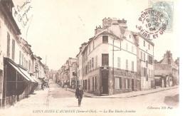 Saint - Ouen - L ´ Aumone . La Rue Haute - Aumône . - Saint-Ouen-l'Aumône