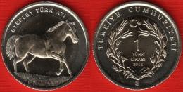 "Turkey 1 Lira 2014 ""Horse"" BiM. UNC - Turquie"