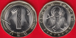 Bulgaria 1 Lev 2002 Km#254 BiMetallic UNC - Bulgaria
