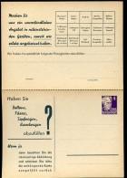 DDR PP2 B2/002 Privat-Antwortpostkarte PETERS FABRIKATIONSPROGRAMM 1952  NGK 15,00 € - Privatpostkarten - Ungebraucht