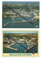 2 CPM -  Belle Isle En Mer - La Bien Nommée - Le Port Du Palais - Belle Ile En Mer
