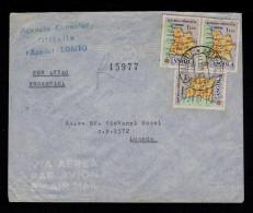 "Angola LOBITO REG. Cover 1961 ""maps Géographie""  Portugal Sp4287 - Géographie"