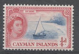 Cayman Islands 1955. Scott #135 (MNG) Catboat - Iles Caïmans
