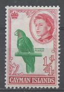 Cayman Islands 1962. Scott #153 (MNG) Cayman Parrot - Iles Caïmans