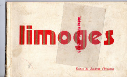 87 - LIMOGES- EDITION SYNDICAT INITIATIVE- - Dépliants Touristiques