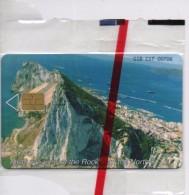 GIBRALTAR PHONECARD VIEW OFTHE ROCK -GIB-C17-5000pcs -1/00-MINT/SEALED-RARE!!! - Gibraltar
