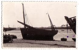 ETAPLES-sur-MER (??): Bateau Au Port (carte Sans Légende) - Etaples