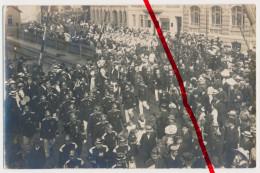 Original Foto - Festumzug - U.a. Feuerwehr - Foto Schmölln Aus Vom 9./10.August 1913 Lt. Aufschrift - Stempel Altenburg - Schmoelln