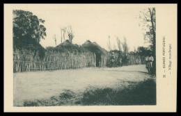 GUINÉ-BISSAU - Village Mandingue ( Nº 20)  Carte PostalE - Guinea Bissau