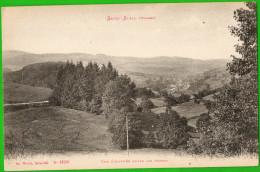 CPA  SAINT-STAIL (Vosges)  Une échappée Entre Les Arbres  ++++++++ - Autres Communes