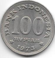 *indonesia 100 Rupiah 1973  Km 36  Unc - Indonesia