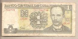 Cuba - Banconota Circolata Da 1 Peso - 2010 - Cuba