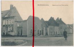 Mariembourg - Boulevard De L'Education - 1916 - Stempel Landsturm-Inf.-Batl. Erfurt, 4. Komp. - Philippeville