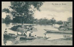 BOFALÁ - Rio Geba Em Bofalá.  Carte Postale - Guinea Bissau