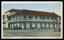 BISSAU -ESTABELECIMENTO COMERCIAL- Etablissements Ch. Peyrissac & Cª.    Carte Postale - Guinea Bissau