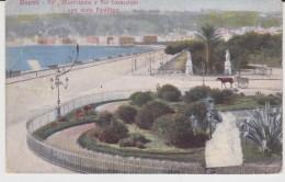 NAPOLI - VILLA MUNICIPALE E VIA CARACCIOLO 1910 CARROZZA - Napoli (Naples)