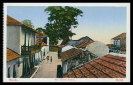 BISSAU - Rua General Bastos.   Carte Postale - Guinea Bissau