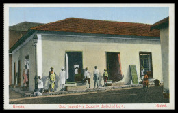 BISSAU - Soc. Importª E Exprtª Da Guiné Lda.  Carte Postale - Guinea Bissau