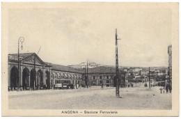 Ancona - Stazione Ferroviaria - Prop Ris Luigi Solfernini - Unused - Ancona