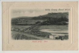 RAILWAY BRIDGE,UMGENI BRIDGE,NATAL, C1902 - Südafrika